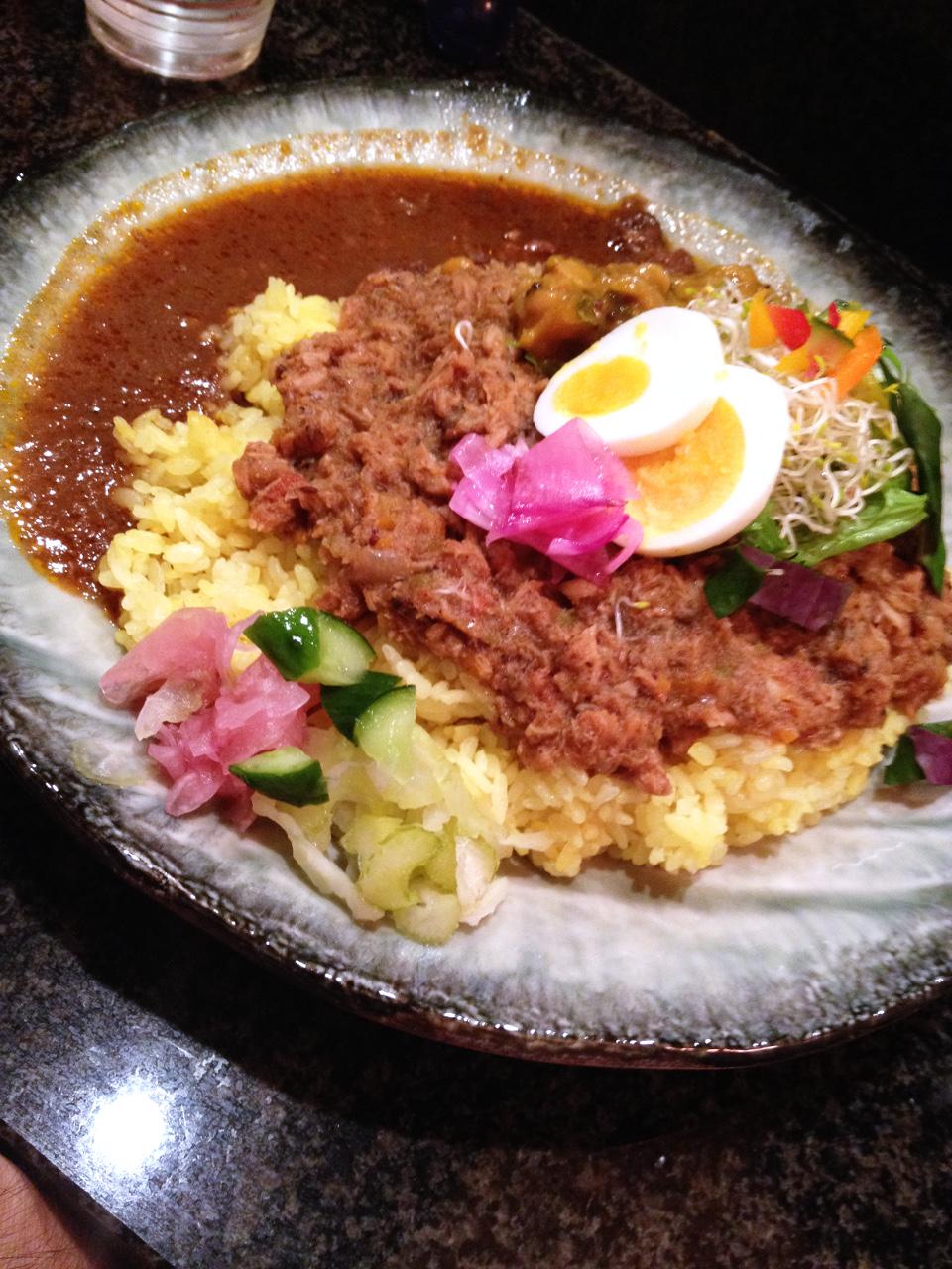 堂島「Spices Curry Synergy」華やかなスパイスカレー