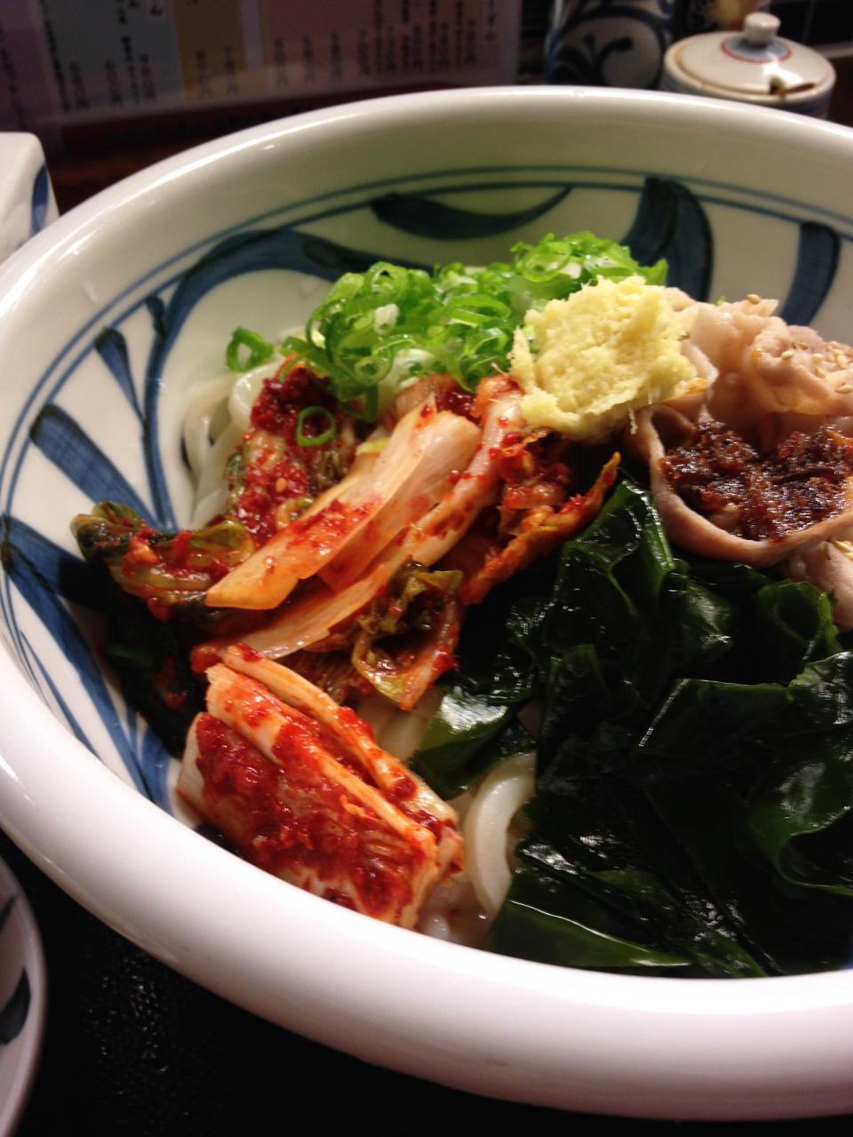 上本町「饂飩工房 うばら」しなやかさと強さを併せ持つ素敵麺