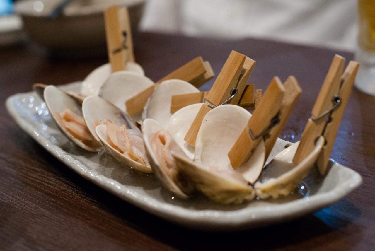 やかん焼きやってます「牡蠣とかはまぐりとか 貝賊 」