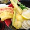 寺田町「極楽うどんAhー麺」カタカナ野菜の絶品天ぷら