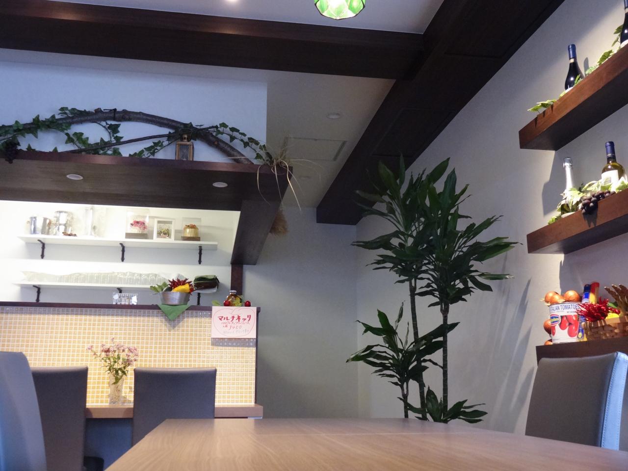 Il sole ed Il mare店内