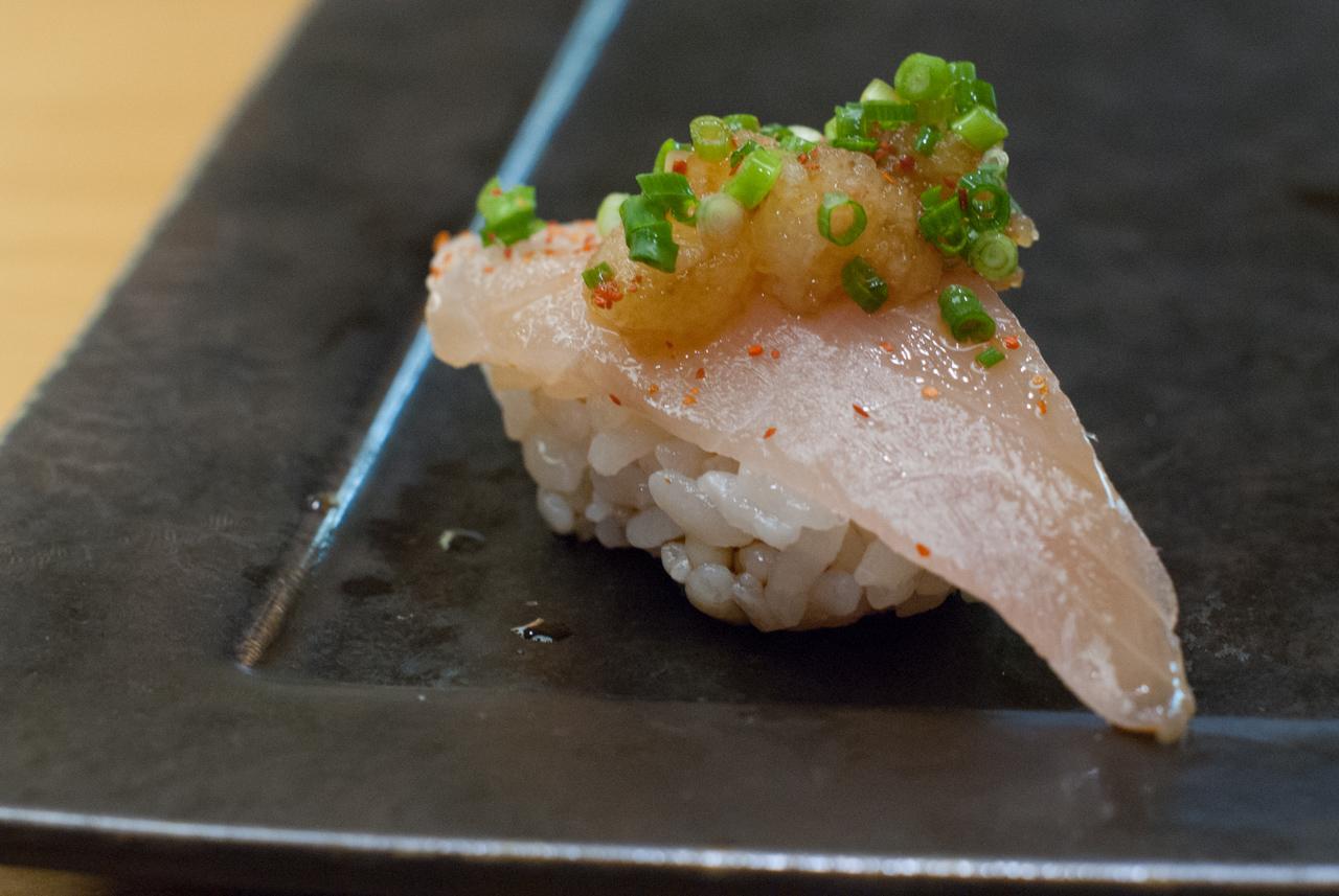 東心斎橋「寿司 旬菜 琥珀」手間暇惜しまぬ本当の料理