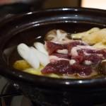 北新地「湯木 新店」冬にぴったりのお値打ちの河内鴨鍋