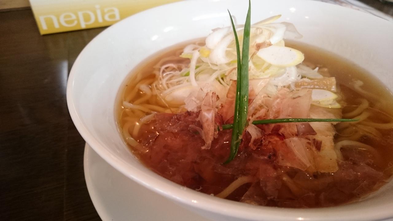 新大阪「手打ち麺 やす田」あっさり系醤油の到達点