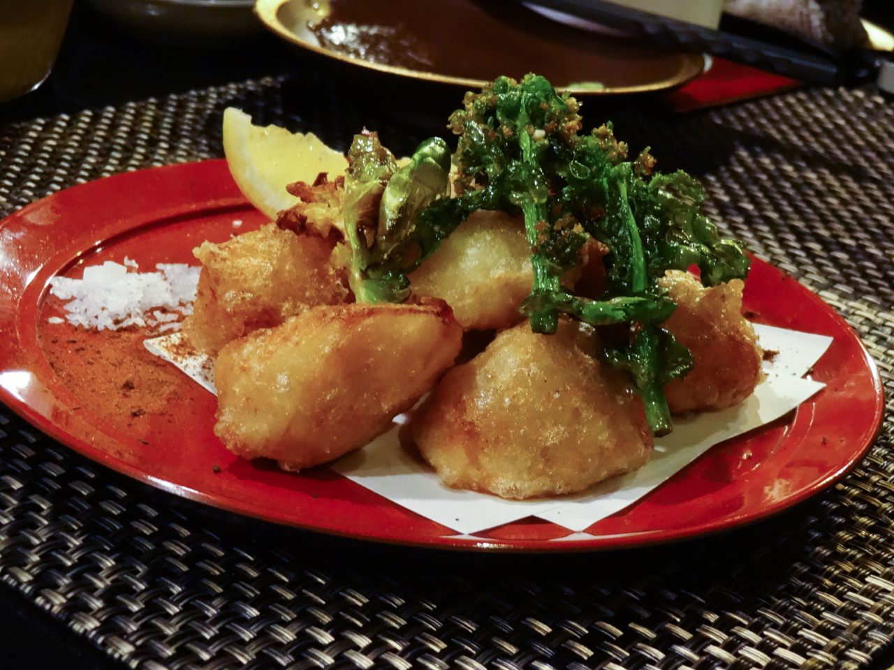 海老芋の唐揚げ