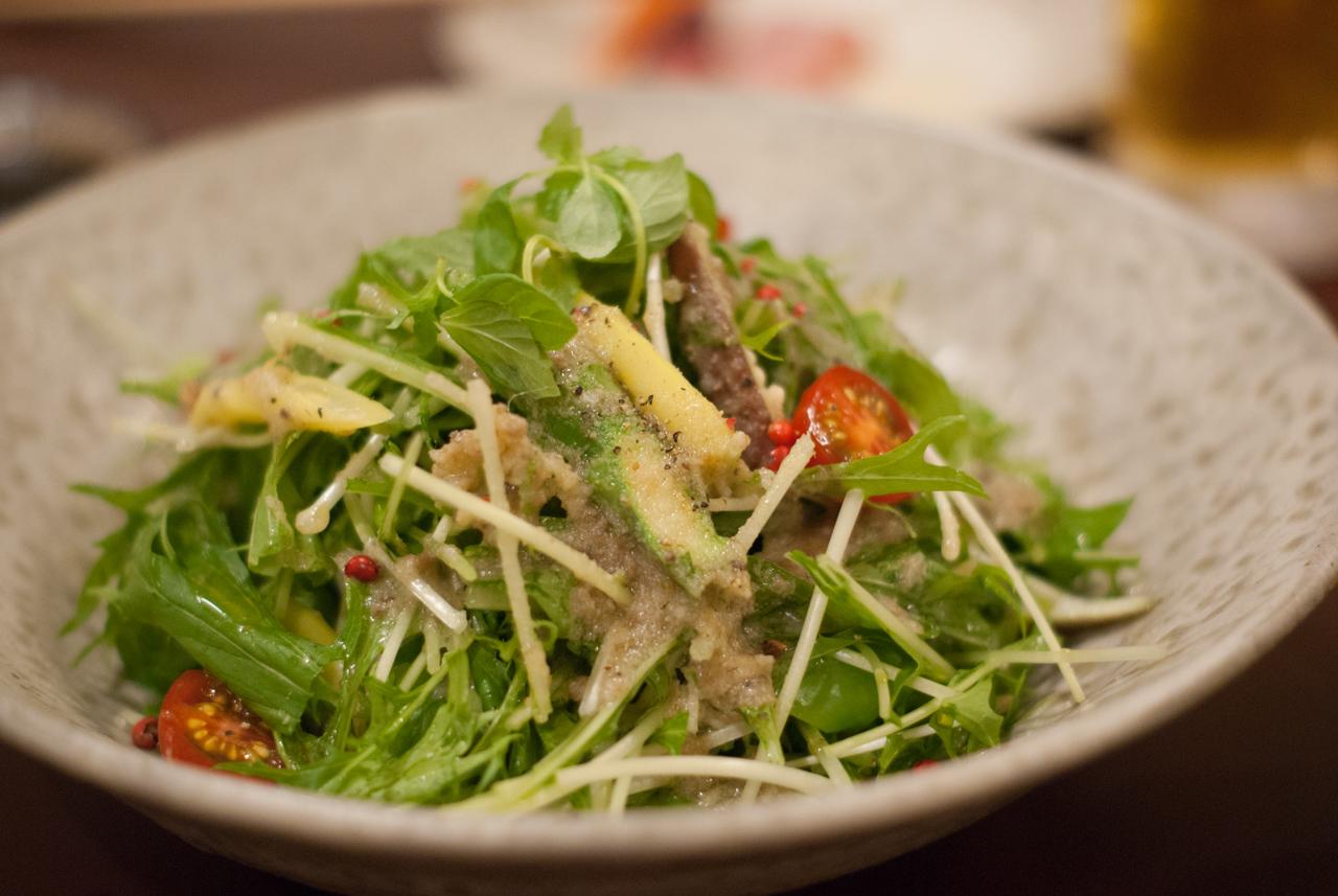 バーニャカウダ風サラダ