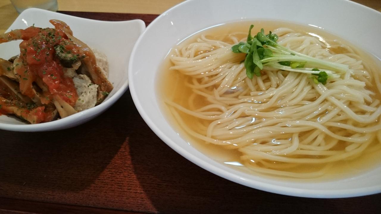 きっかけさえあればハマりそうな麺料理@桃谷「和ヌードル 鈴七」