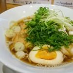 大葉練り込み麺のつるつる感が良いっ!@天七「らーめん浩平」