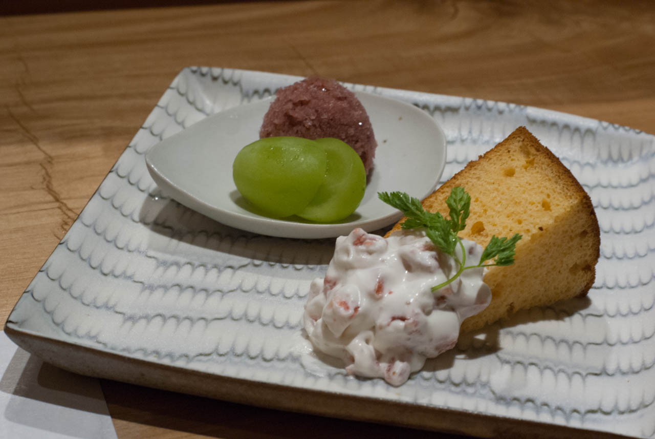 菊姫の大吟醸酒粕シフォンケーキ