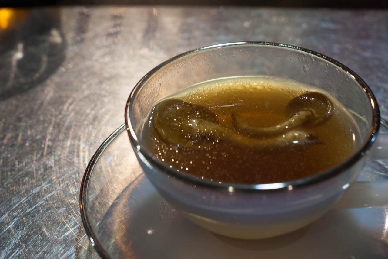 アガリクス茸の薬膳スープ