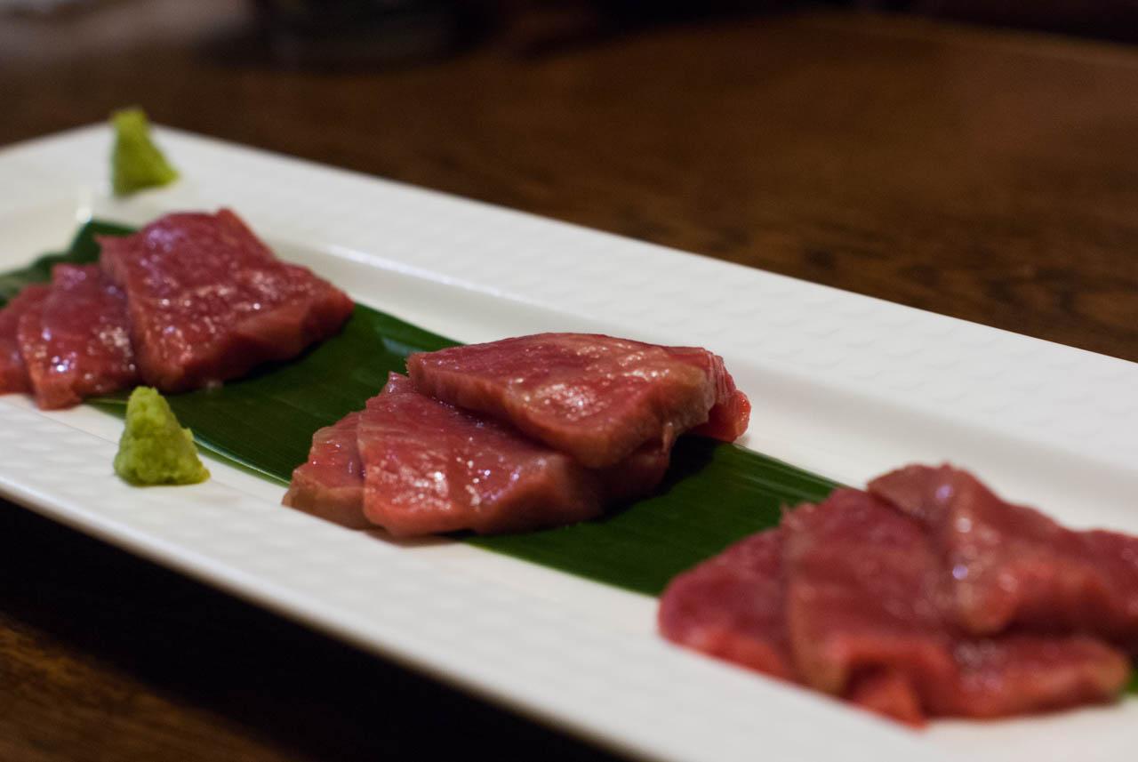 肉のお造り