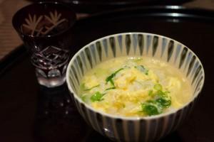 鴨すき鍋 雑炊