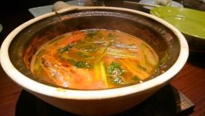 エビのトマトスープ