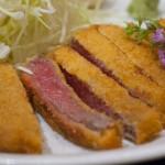 上本町にも牛カツのお店がオープン、こちらはブランド牛の近江牛@上本町「牛かつ 勝昌。」