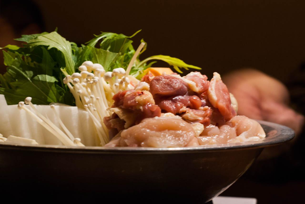 近江軍鶏をすっきりと味わう@北浜「軍鶏十番」