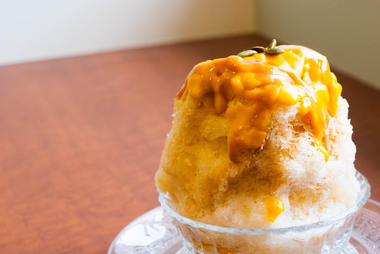 キャラメルかぼちゃクリーム