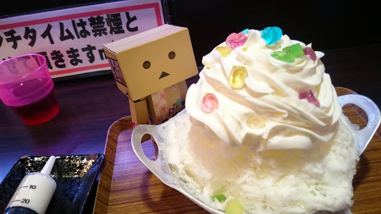 かき氷まで美味しいなんてズルい@立売堀「かき氷専門店どぎゃん」