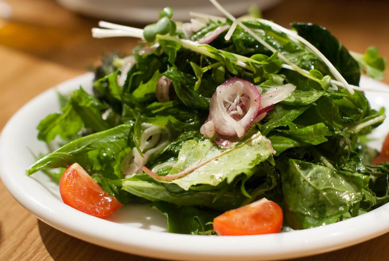 10種野菜のサラダ