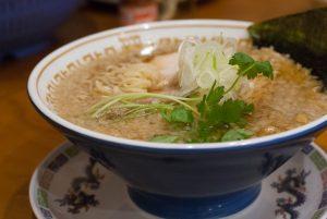 ガハハ煮干しそば(細麺)