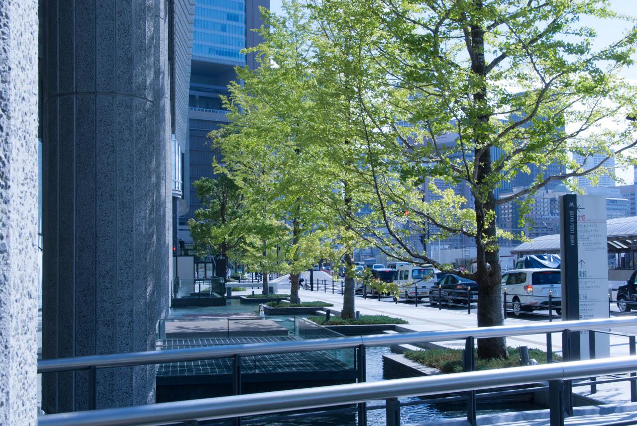 グランフロント大阪北館 西側通路