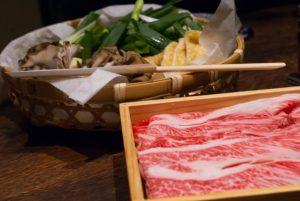牛すき(特選盛り)