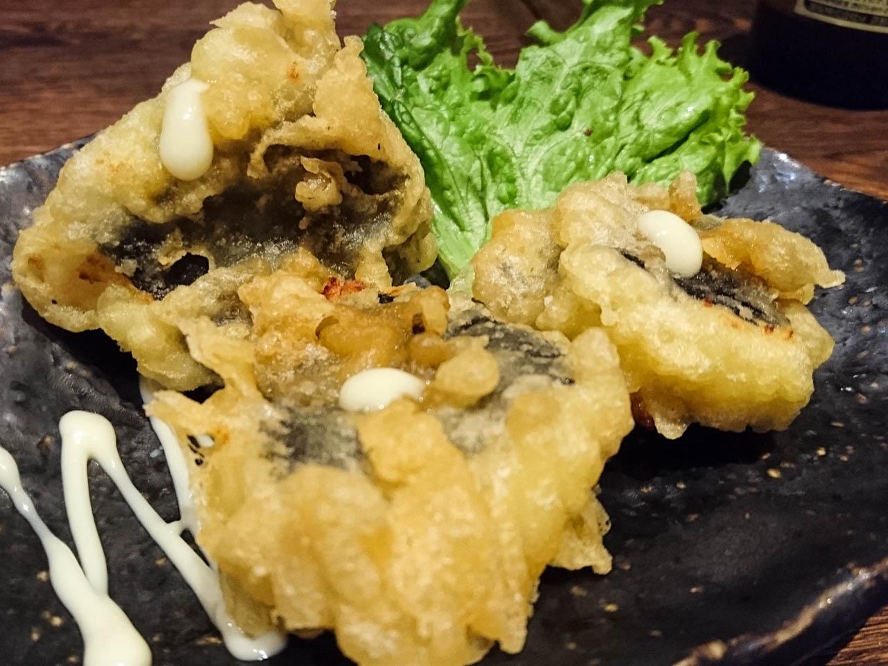 ポテトサラダの天ぷら