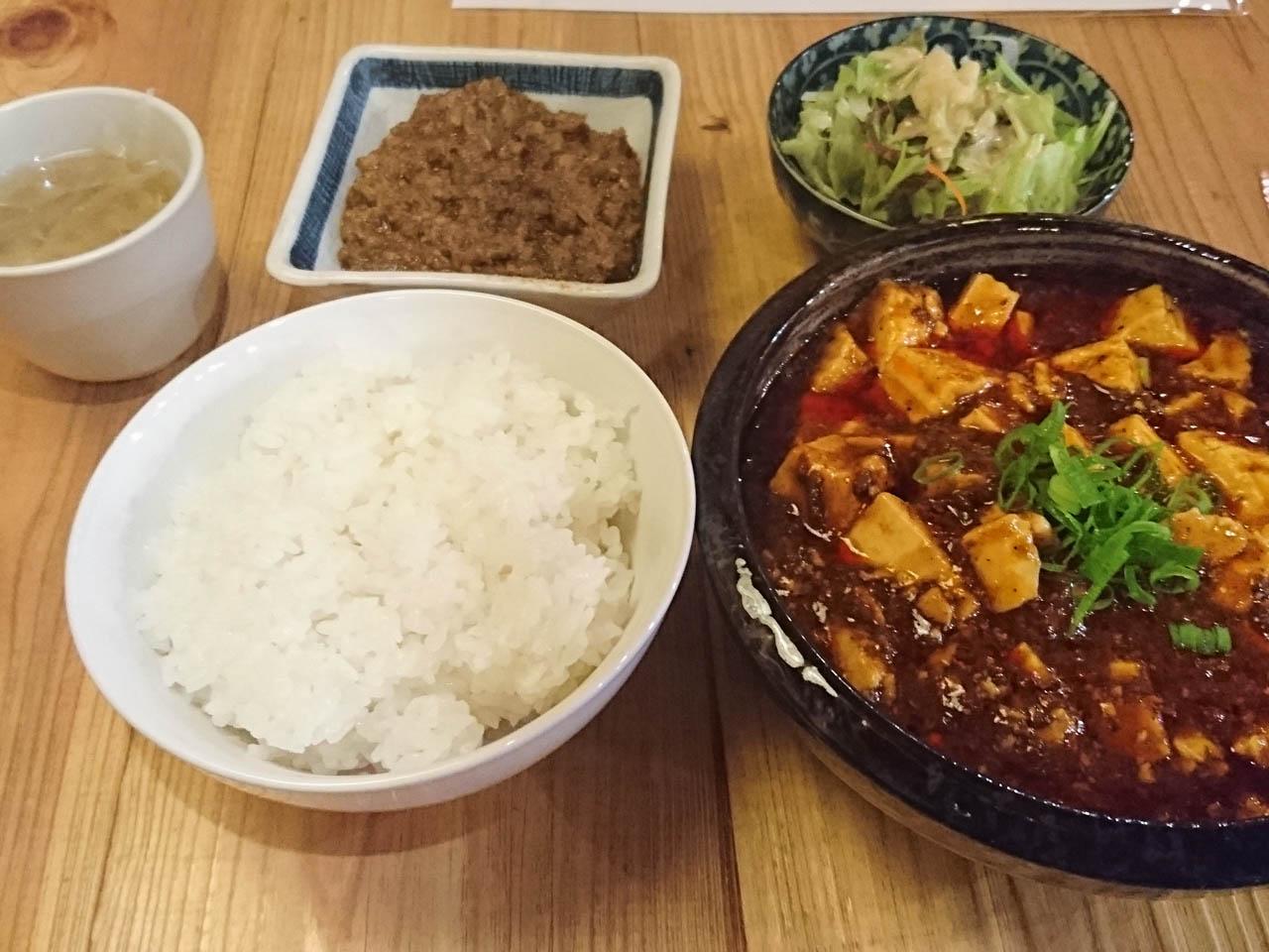 スパンキー麻婆豆腐
