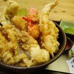 天ぷら盛り盛り! 圧倒的コスパの天丼ランチ@中崎町「海鮮居酒屋 てつたろう 梅田中崎町店」