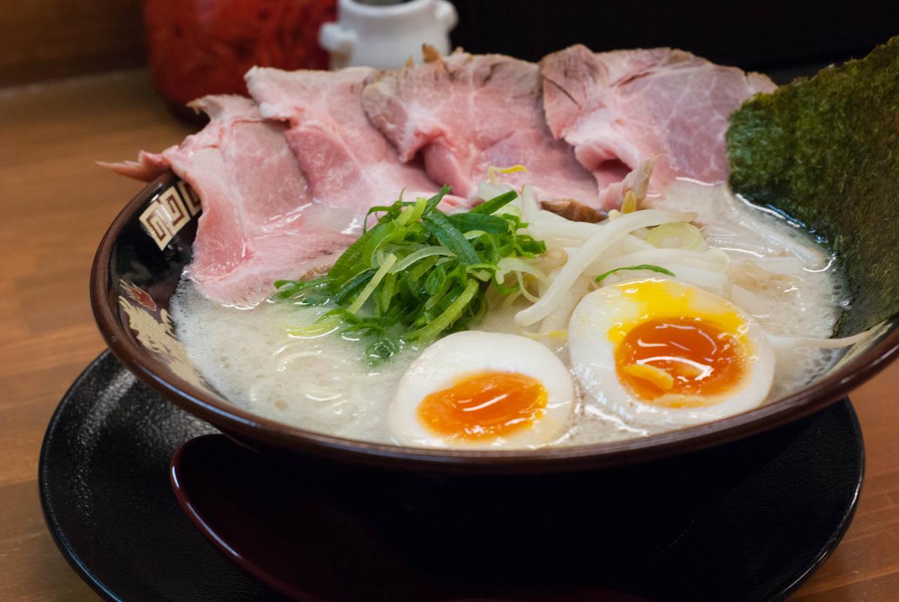 新規オープン純粋な豚骨ラーメン@関目高殿「らーめん関龍」