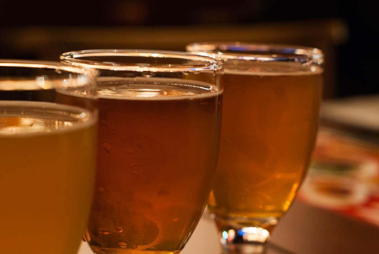アクセス最高、クラフトビールを堪能できるパブ@茶屋町「DRUNK BEARS ~NU chayamachi~」